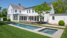 This five-bedroom home in Sag Harbor, New York, did not sell when it was on the market last year. It sold during the pandemic for $4.8 million as buyers looked for more space.
