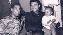 Muhammad Ali è stato una figura ispiratrice e talismanica per Ribbs (Courtesy: Chassy Media)