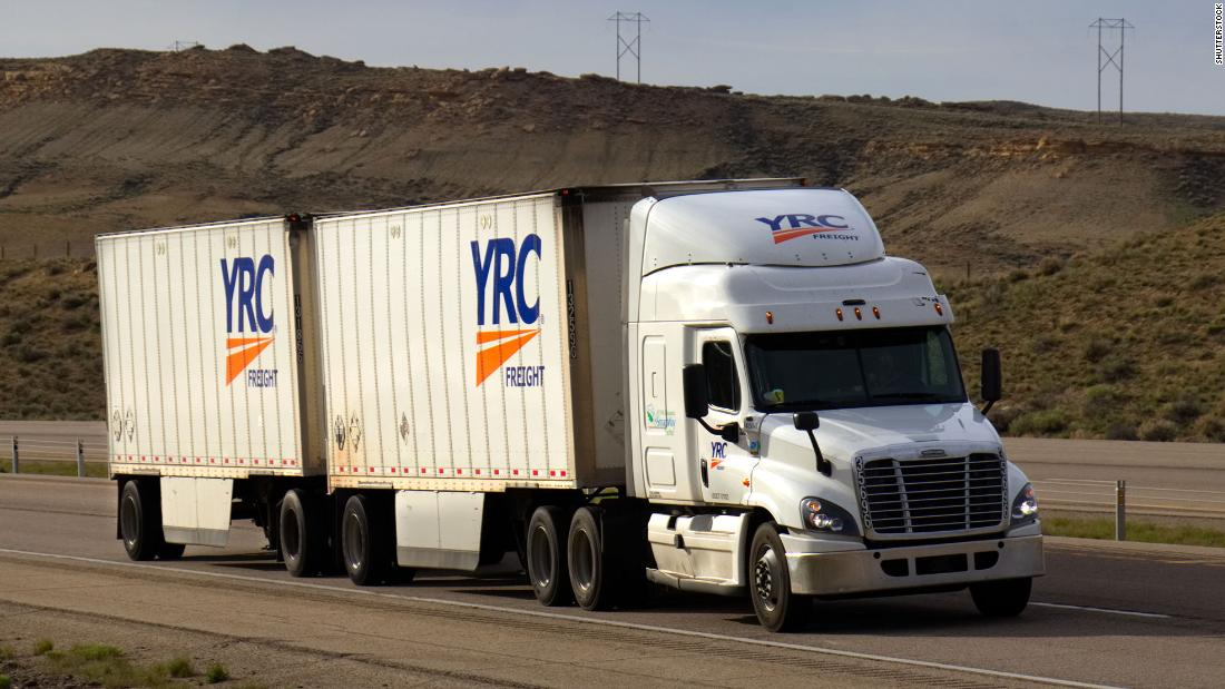 Treasury just lent a troubled trucking company $700 million. The company was worth only $70 million