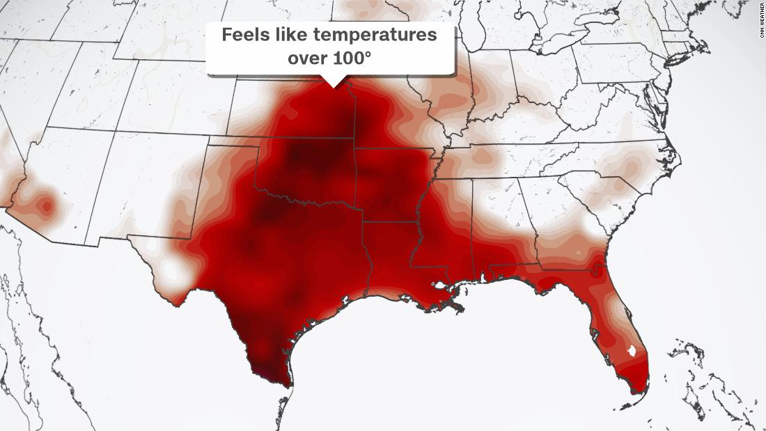 A potentially deadly weather pattern is setting up across the central US