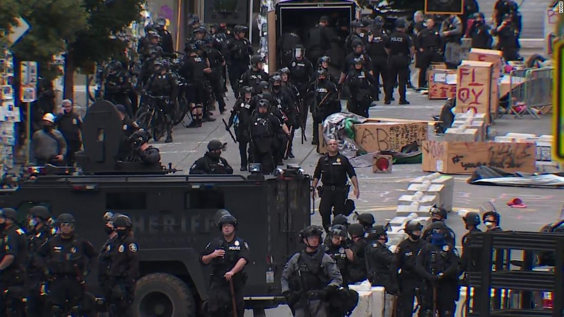 Seattle Police Dismantle CHOP, Arrest Dozens of People After Emergency Order from Mayor