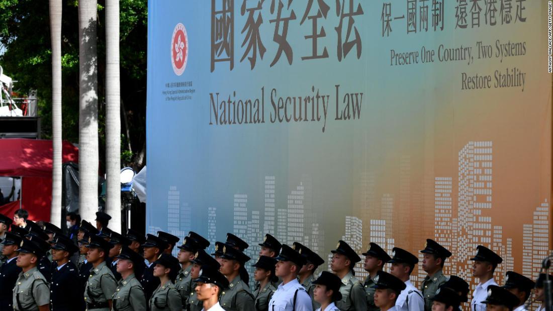 Senate approves last sanctions invoice to punish China over Hong Kong - CNN thumbnail