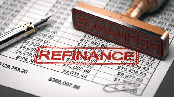 You may be able to get cash from your property when you refinance.