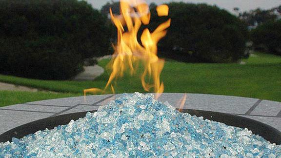 Hiland Fire Pit Fire Glass