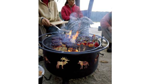 L.L.Bean Backyard Wildlife Fire Pit and Grill