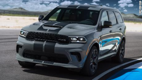The Dodge Durango Hellcat is a family SUV that can go 180 mph