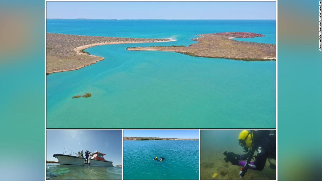Archaeologists find ancient Aboriginal sites underwater, off the coast of Australia