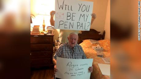 Assisted living home residents are in need of pen pals in this time of isolation