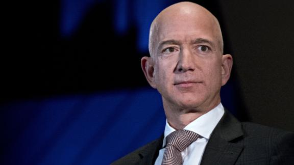 FILE: Jeff Bezos, founder and chief executive officer of Amazon.com Inc., listens during an Economic Club of Washington discussion in Washington, D.C., U.S., on Thursday, Sept. 13, 2018. Amazon.com Inc. founderJeff Bezos,the worlds richest person, and his wifeMacKenzieare divorcing after 25 years. Bezos, 54, is worth $137 billion, according to the Bloomberg Billionaires Index, a ranking of the worlds 500 wealthiest people. The couple met when they both worked at hedge fund D.E. Shaw, and they married in 1993. He founded Amazon a year later. Photographer: Andrew Harrer/Bloomberg via Getty Images