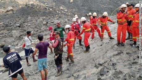 LANDSLIDE WIPED OUT 162 IN MYANMAR'S JADE MINE HUB