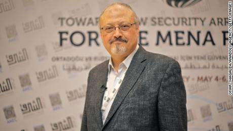 Saudi journalist Jamal Khashoggi in Istanbul, Turkey.