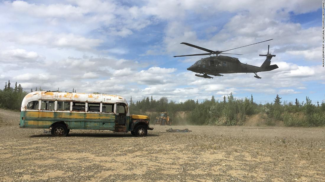 'Into the Wild' bus on path toward a new home in Alaska