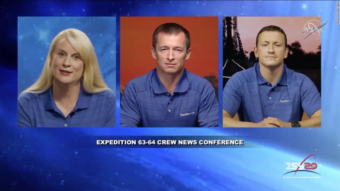 New crew will launch to the International Space Station in October - CNN