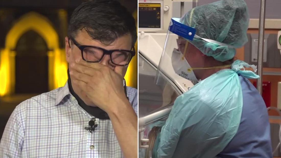 CNN reporter goes inside Texas hospital. See why it brought him to tears.
