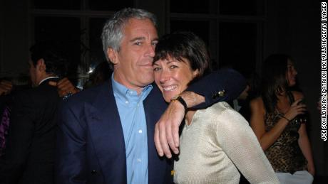 NEW YORK CITY, NY - MARCH 15: Jeffrey Epstein and Ghislaine Maxwell attend de Grisogono Sponsors The 2005 Wall Street Concert Series Benefitting Wall Street Rising, with a Performance by Rod Stewart at Cipriani Wall Street on March 15, 2005 in New York City. (Photo by Joe Schildhorn/Patrick McMullan/Getty Images)