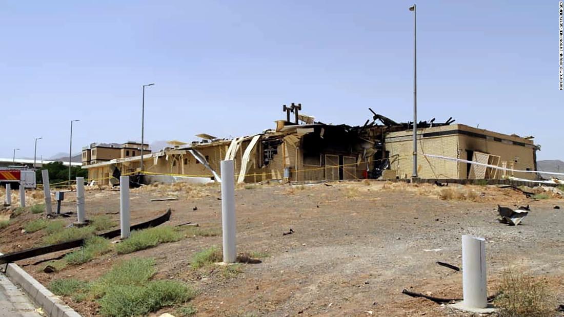 Iran struggles to explain fire at Natanz nuclear complex