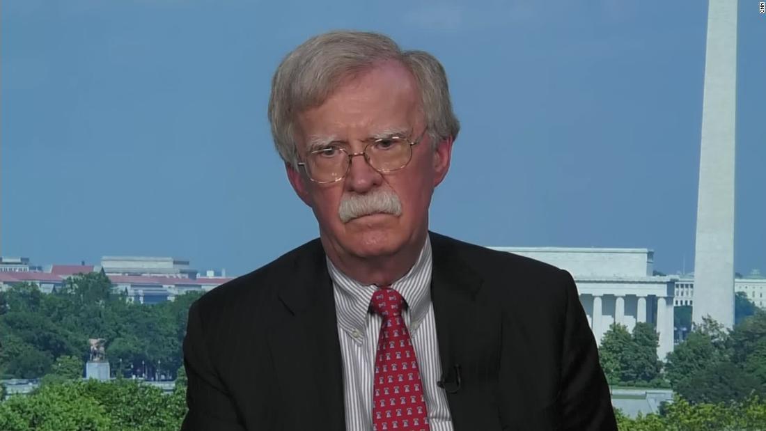 President Trump calls Russia intel a 'hoax.' Hear what John Bolton has to say.