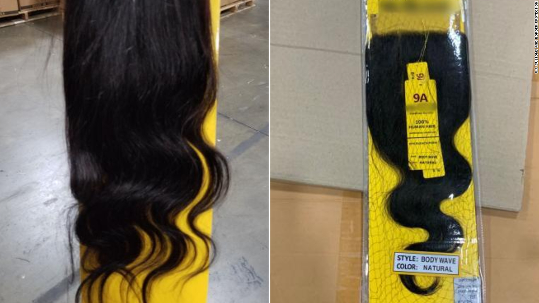 13-ton shipment of human hair, likely from Chinese prisoners, seized thumbnail