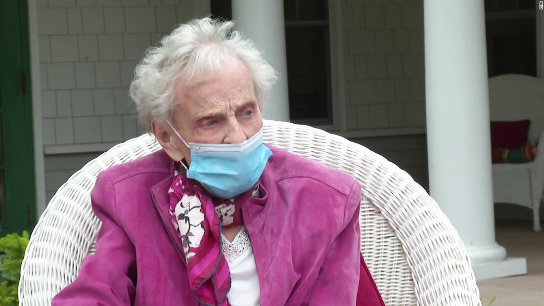 This 102-year-old woman has survived a pandemic twice
