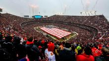 Don't expect full sports stadiums until at least the end of the summer, Dr. Fauci says