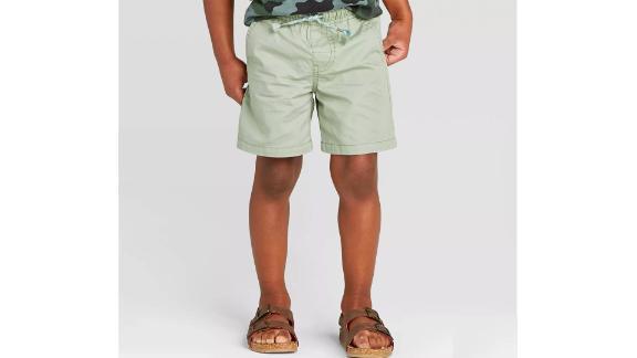 Toddler Boys' Twill Pull-On Shorts - Cat & Jack™ Green