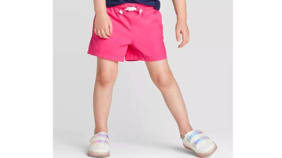 Toddler Girls' Woven Pull-On Shorts - Cat & Jack™