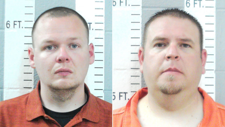 Officers Joshua Taylor and Brandon Dingman of the Wilson Police Department in Oklahoma were charged in the death of Jared Lakey.