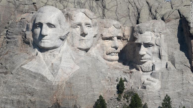 South Dakota governor sues Interior Dept. over denied permit for Mount Rushmore July 4th fireworks