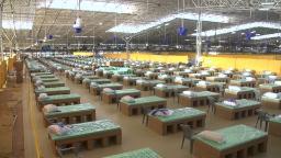 200703120548 india coronavirus worlds biggest field hospital pkg sud intl hnk vpx 00001710 hp video