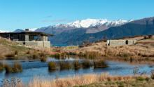 A property near Queenstown, New Zealand, designed by Mason & Wales Architects.