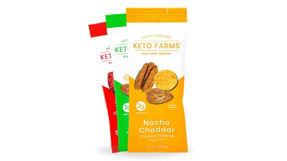 Keto Farms Crunchy Cheese Variety Pack