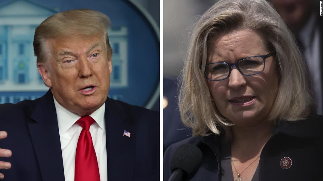 GOP lawmaker breaks with President Trump