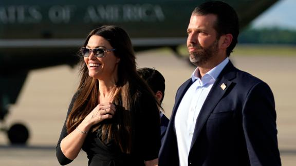 Image for Montana's Greg Gianforte suspends in-person campaigning after wife, running mate attended event with Kimberly Guilfoyle