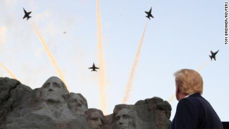 Analysis: Trump tries to drag America backward on a very different July 4th