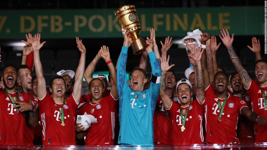 Il Bayern Monaco rimane sulla rotta degli alti storici con la vittoria della Coppa di Germania sul Bayer Leverkusen