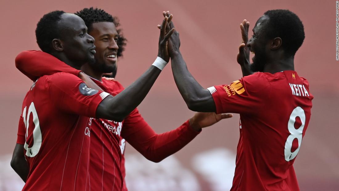 Il Liverpool riporta in pista le celebrazioni per il titolo di Premier League con la vittoria contro l'Aston Villa