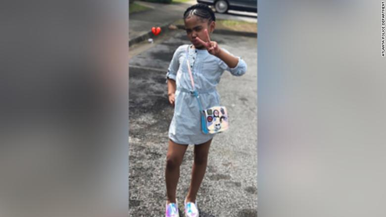Secoriea Turner, 8, was fatally shot in Atlanta on July 4.