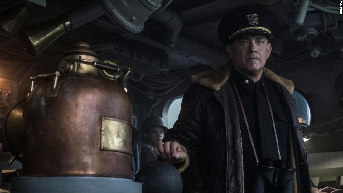 Tom Hanks đi đến chiến tranh (một lần nữa) trong bộ phim truyền hình Thế chiến II 'Greyhound'