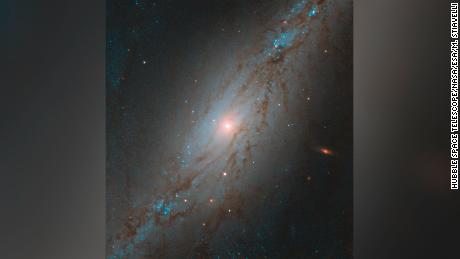 Hubble watches the galaxy move away from us at 3 million miles per hour
