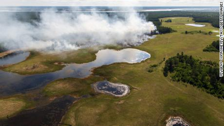 Siberia had its warmest June ever as wildfires raged and carbon dioxide emissions surged