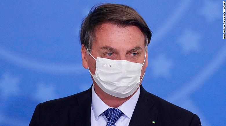 Bolsonaro tests positive