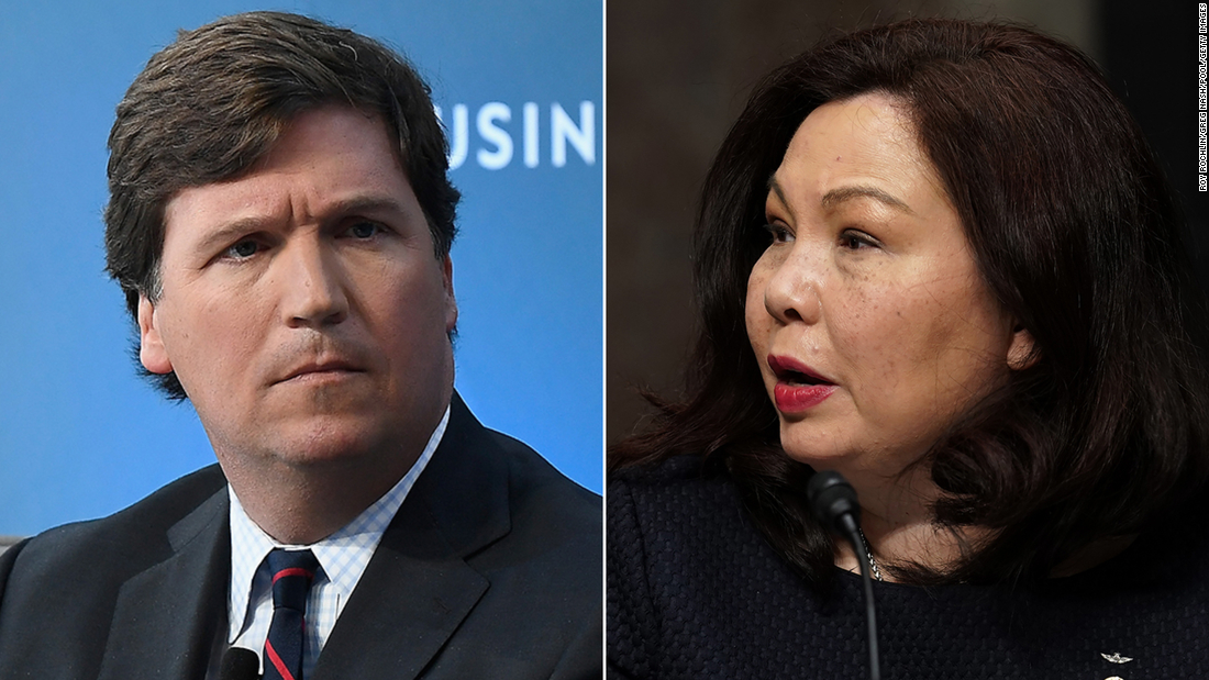 Tammy Duckworth hits back at Trump and Carlson These titanium legs dont buckle