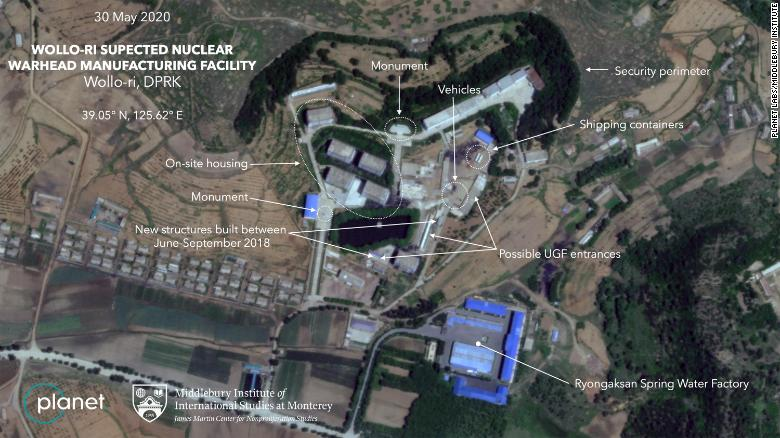 New satellite imagery obtained by CNN shows recent activity at a previously undeclared North Korean facility near the village of Wollo-ri that experts believe is linked to the country's nuclear program.