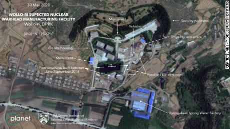 New satellite imagery shows activity at suspected North Korean nuclear facility