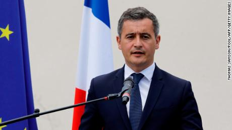 Gerald Darmanin was appointed interior minister on July 6.