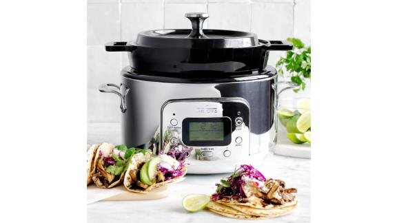 All-Clad Cast-Iron Dutch Oven Slow Cooker