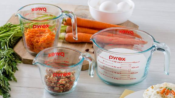 Pyrex Glass Measuring Cup, 3-Piece Set