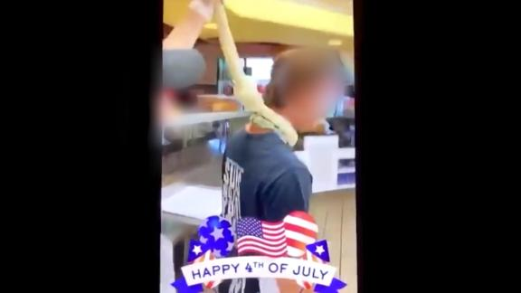 Image for Jimmy John's employees fired after playing with a noose made out of dough and filming it