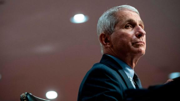 Anthony Fauci, director of the National Institute of Allergy and Infectious Diseases, listens during a Senate Health, Education, Labor and Pensions Committee hearing in Washington, DC, on June 30, 2020. - Fauci and other government health officials updated the Senate on how to safely get back to school and the workplace during the COVID-19 pandemic. (Photo by Al Drago / various sources / AFP) (Photo by AL DRAGO/AFP via Getty Images)