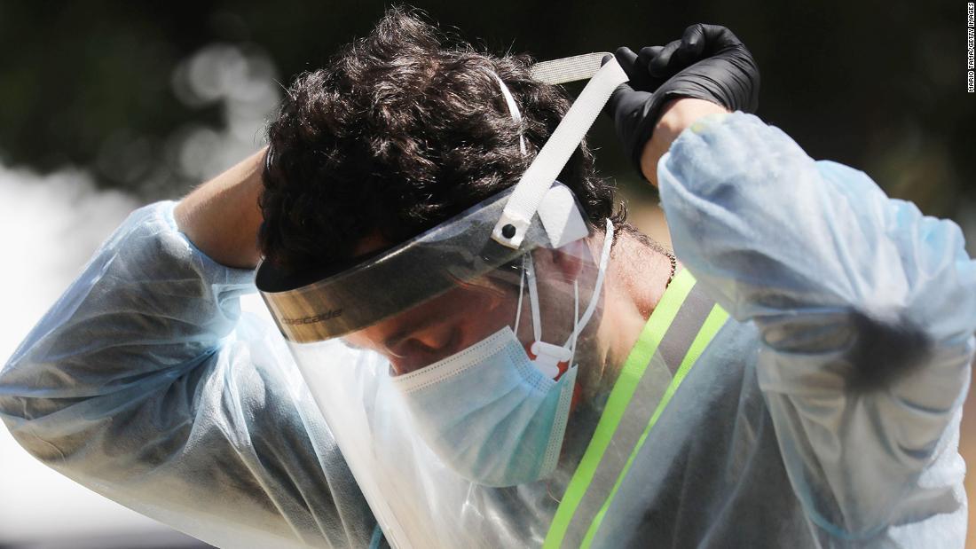 Vi rút coronavirus của Mỹ: 3 triệu trường hợp được coi là tăng đột biến tăng thêm 1 triệu trong 28 ngày